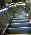 越後湯沢駅エスカレーターの写真