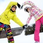 スノーボードカップル