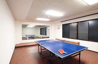 小ホールはダンスレッスンや卓球場としてご利用頂けます