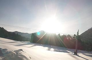 浅貝の雪景色の写真